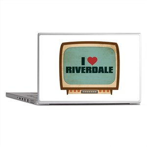 Retro I Heart Riverdale Laptop Skins